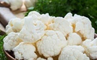 Лучшие сорта цветной капусты для открытого грунта: фото с названиями